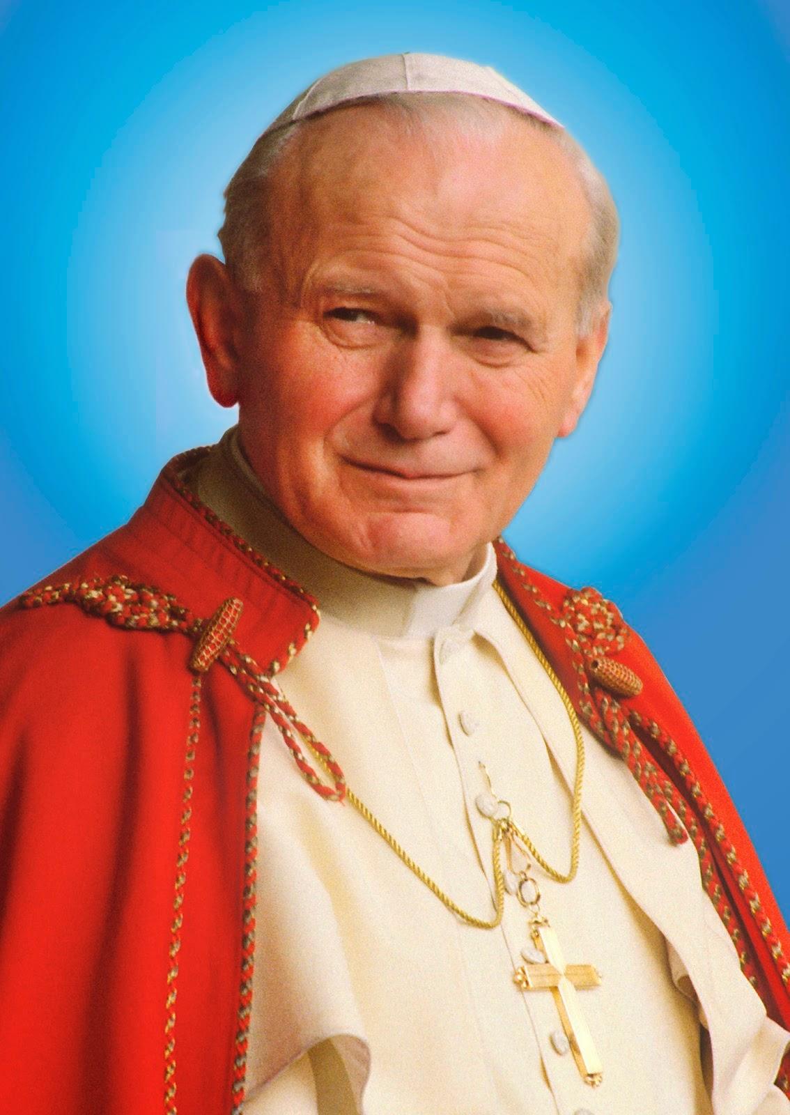 São João Paulo II padroeiro da Juventude