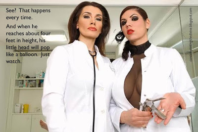 Femdom doctor and evil experiments oh my