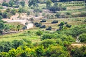 [Latgab 2014] Infiltrasi Tank Indonesia Gempur Area Lawan