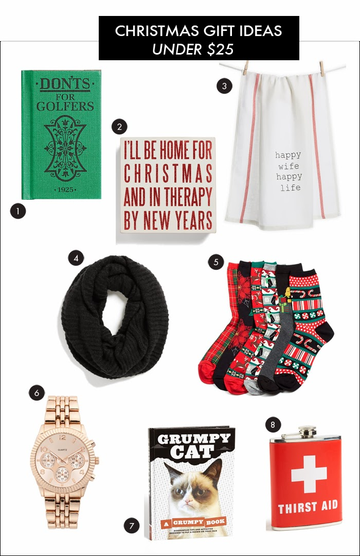 christmas gift ideas, under $25, holiday gift ideas, gift exchange ideas, what to buy for friend, what to buy for co-worker, what to buy gift exchange, holiday gift ideas