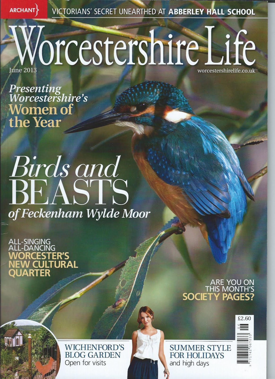 PTC Garden Makes the last ever issue of Worcestershire Life Magazine