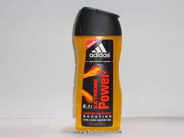 Adidas 2 in 1 Extreme Power Coffee Extract Boosting Hair & Body Shower Gel Review