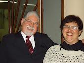 Pr. Osmar Teles Dias e sua esposa Maria Célia