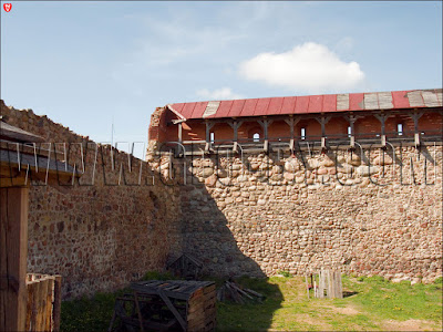 Галерея в замке Гедимина