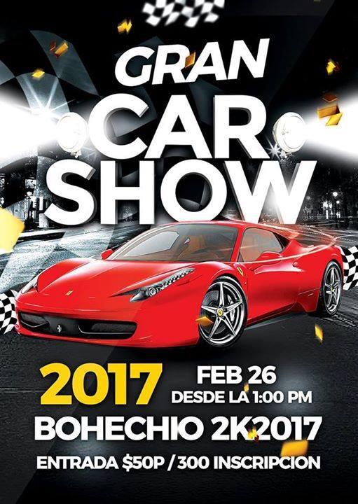 26 FEBRERO GRAN CAR SHOW EN BOHECHIO