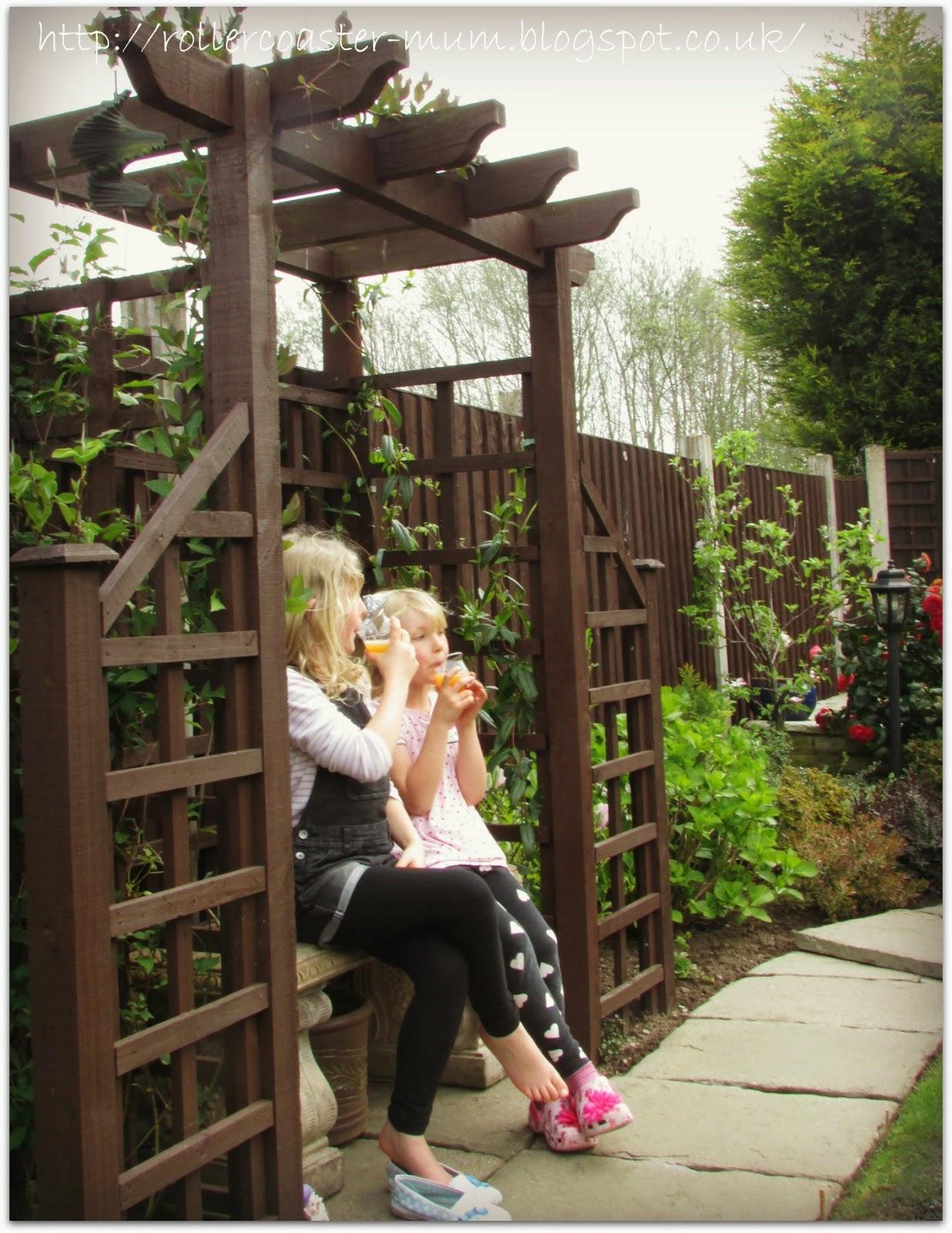 being ladylike - drinks in the garden