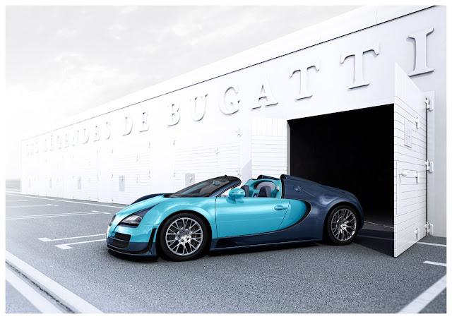 Bugatti Veyron Grand Sport Vitesse Legend Jean-Pierre Wimille to Debut at Pebble Beach