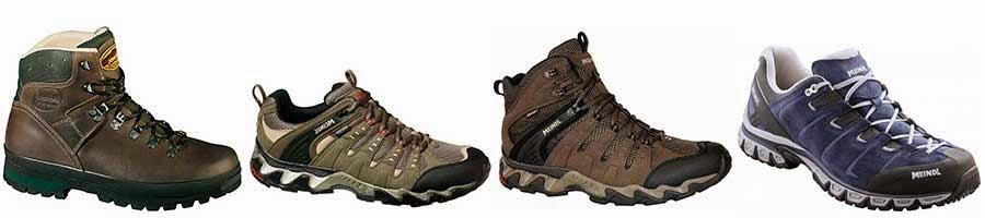 Meindl walking hiking footwear