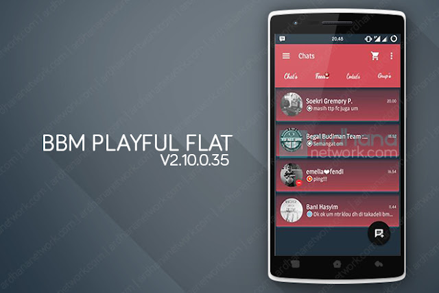 BBM Playfull Flat V2.10.0.35