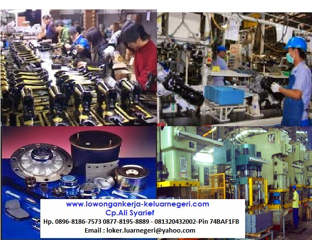 Lowongan Kerja Pabrik Spare Part di Taiwan 3 - Kontak  Ali Syarief 0896-8186-7573 0877-8195-8889 - 081320432002-Pin 74BAF1FB