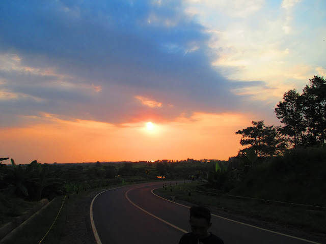 Jalan Pantai Sigandu Ujungnegoro Batang Jawa Tengah Indonesia
