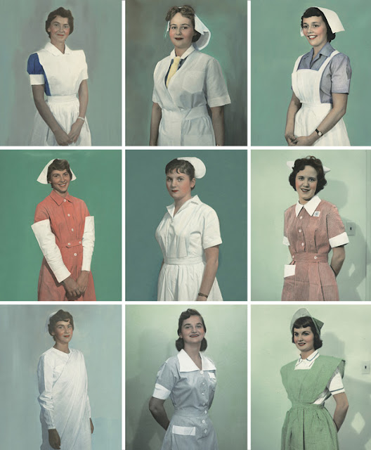1950s nurse uniform Just Peachy, Darling