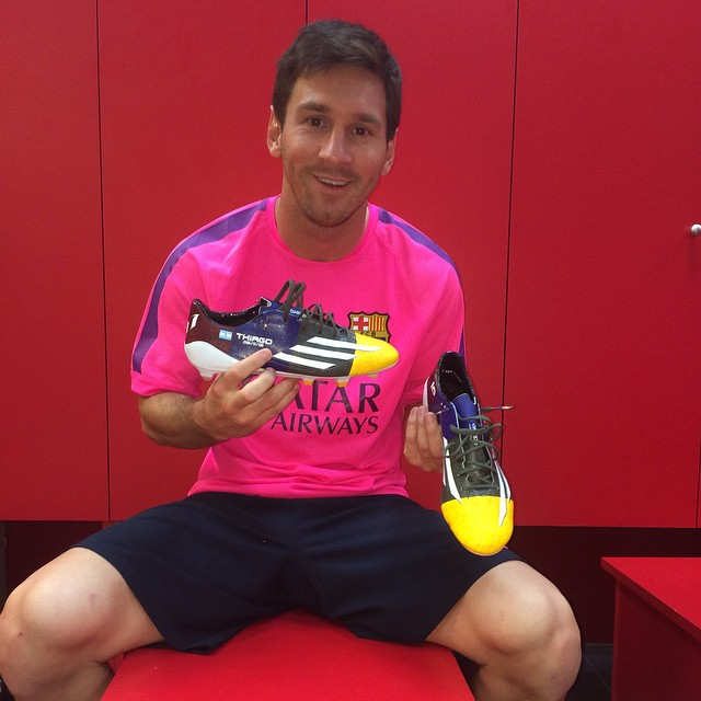 Nuevos botines adidas de Messi exclusivos para la Champions League