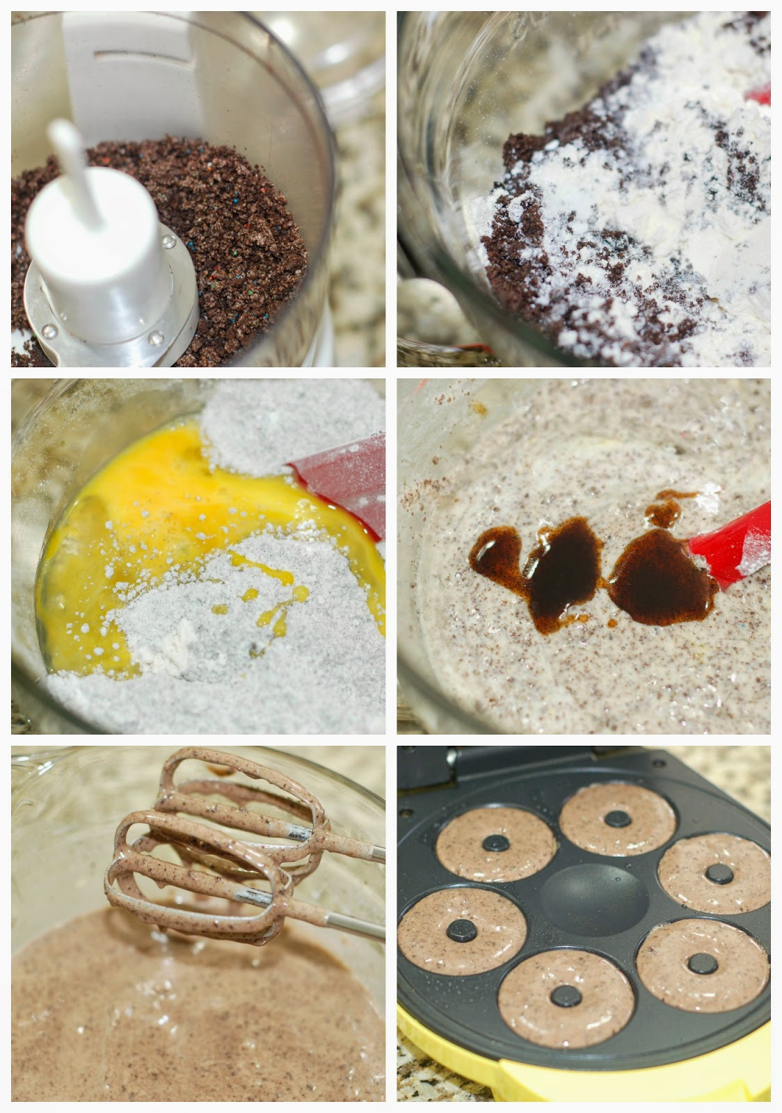 Birthday Cake Oreo Donuts by The Sweet Chick