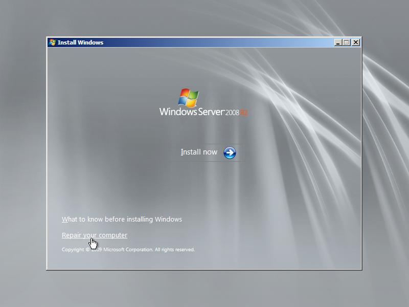 windows server 2012 r2 cmd.exe