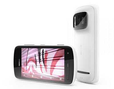 Nokia 808 PureView Smartphone c/camera 41 megapixel
