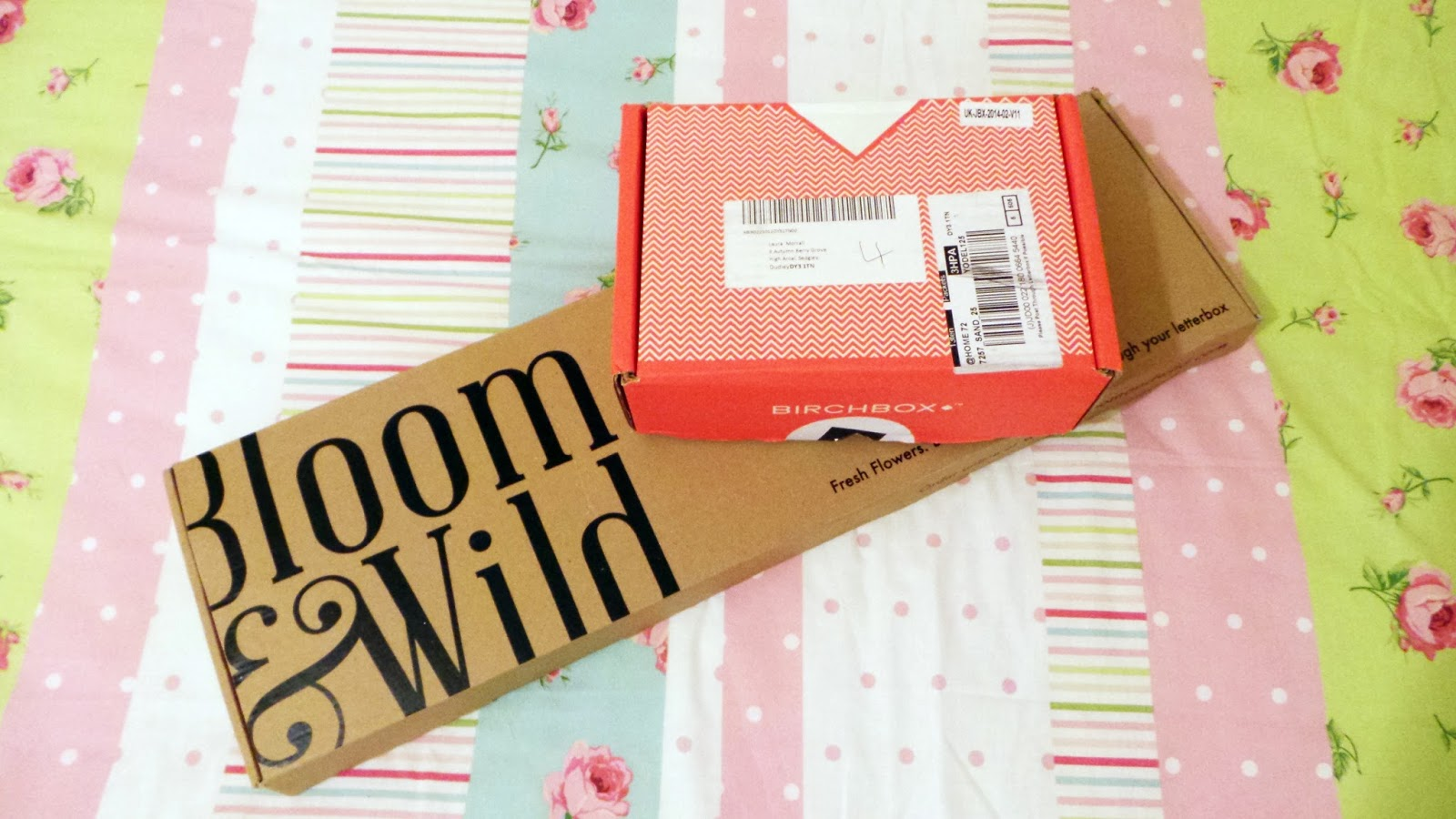 Birchbox Bloom & Wild Monthly Subscription, beauty box review, beauty box subscription, birchbox review, bloom & wild review, flowers by post, flower delivery,