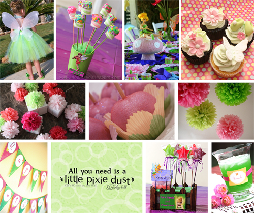 Inspiration Board: Tinkerbelle Party