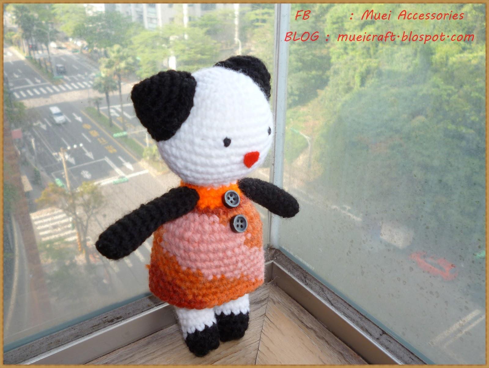 Amigurumi Boneka : Untuk sahabat muei amigurumi tutorial gadis panda