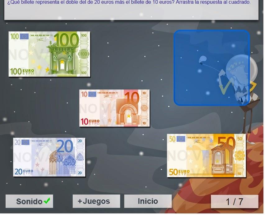 http://www.mundoprimaria.com/juegos/matematicas/magnitudes-medidas/4-primaria/95-juego-billetes-euro/index.php