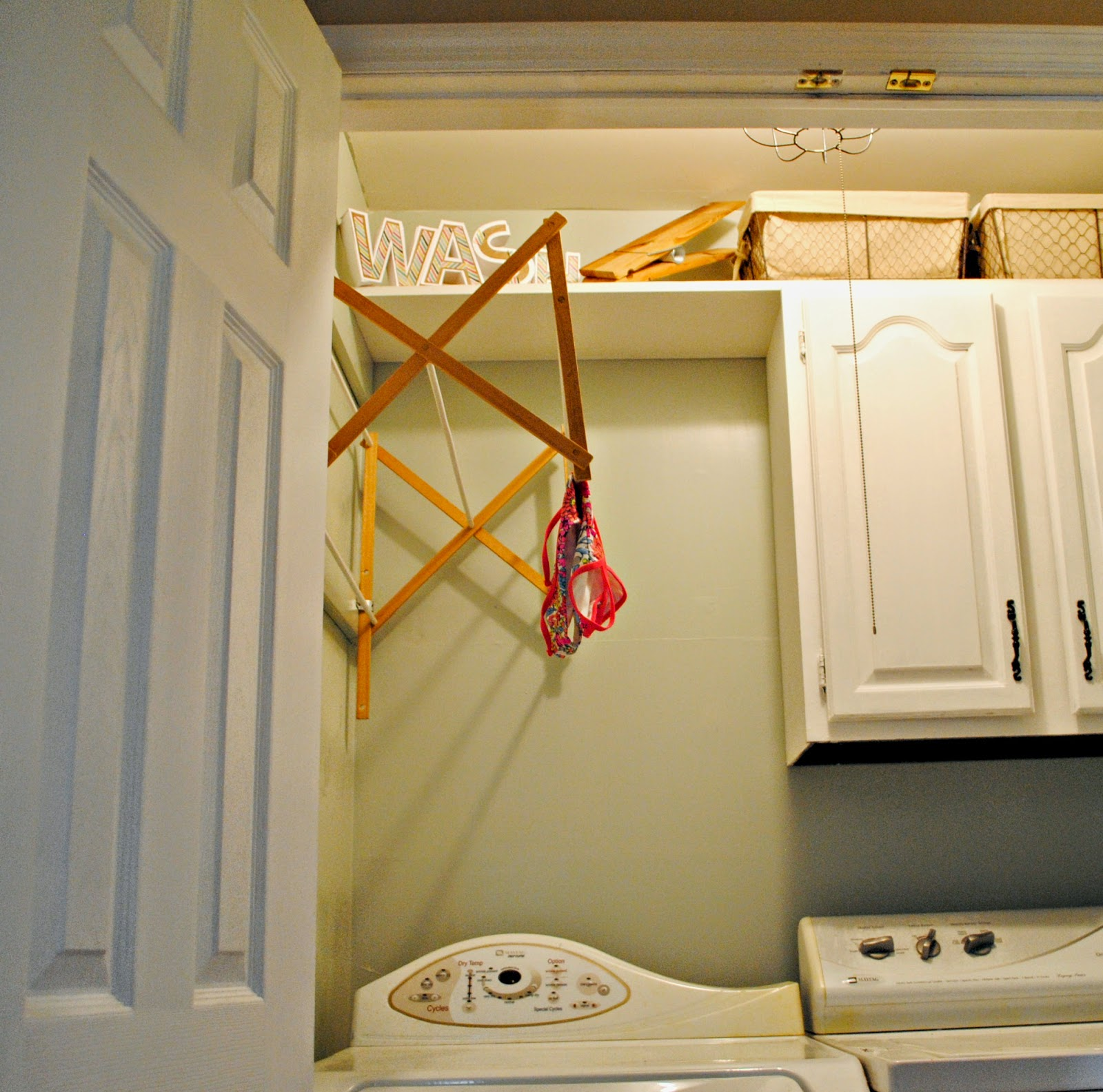 Laundry Room Hanging Rack Ideas. Perfect Hanging Pot Rack With ...