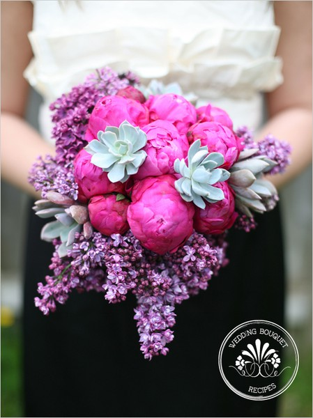 penoies,+lilac+wedding Wedding Inspiration: Peony Bouquets