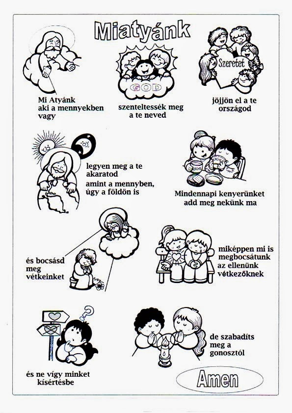 Miatyánk (Padrenuestro en húngaro) | Educacion Religiosa