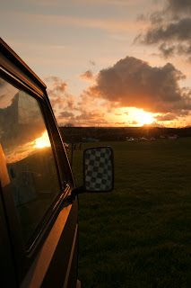 Sunset VW pictures