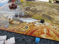Part of the board for World Without End