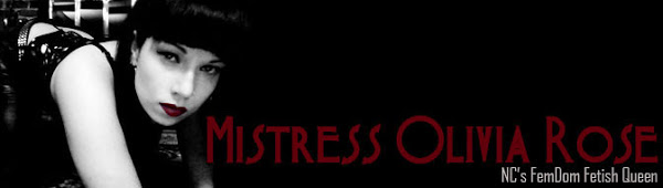 Mistress Olivia Rose - Raleigh, NC Dominatrix - pro-Domme - Domination Fetish Kink