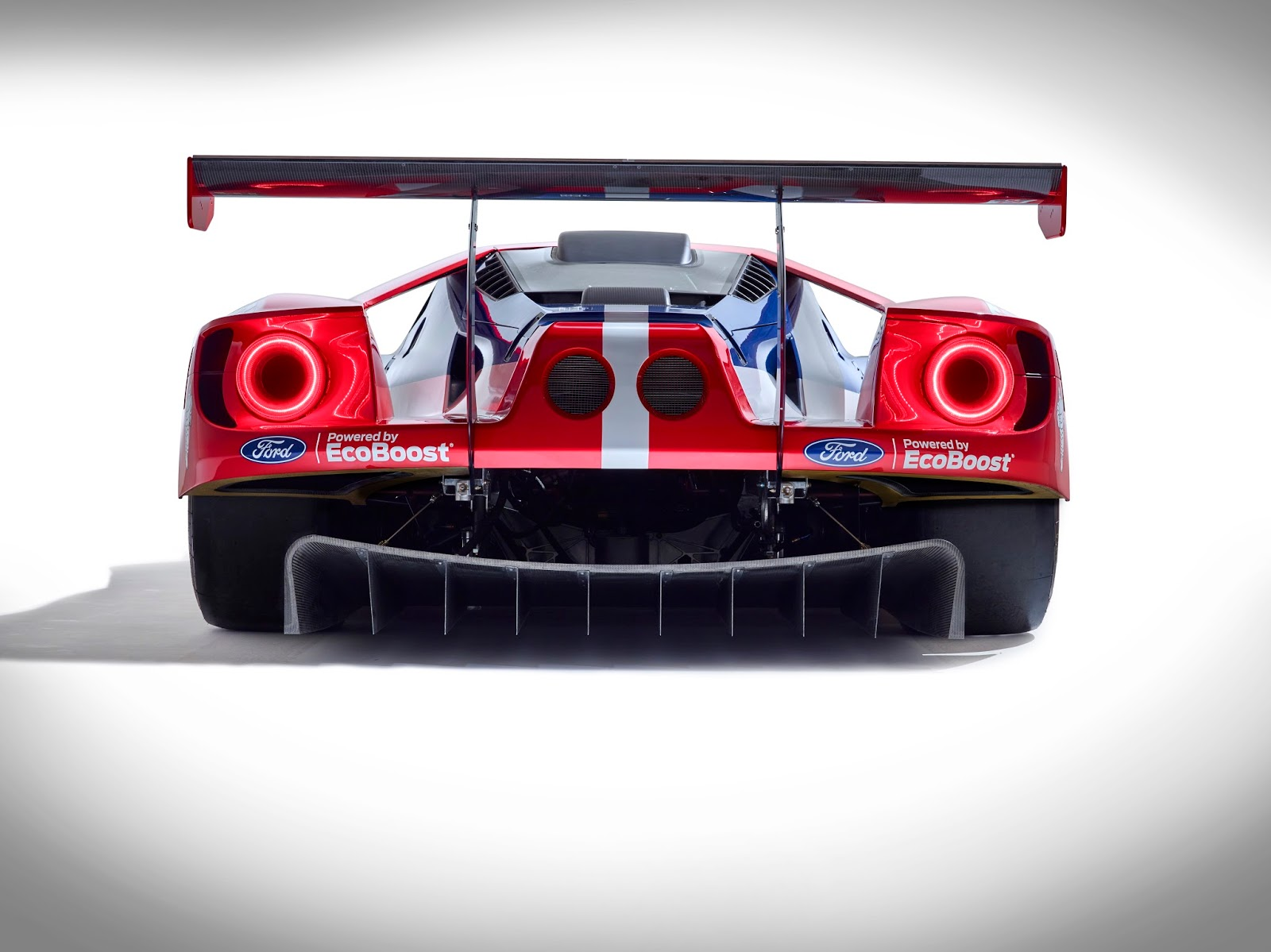 Ford Gt  Hours Of Le Mans Rear End