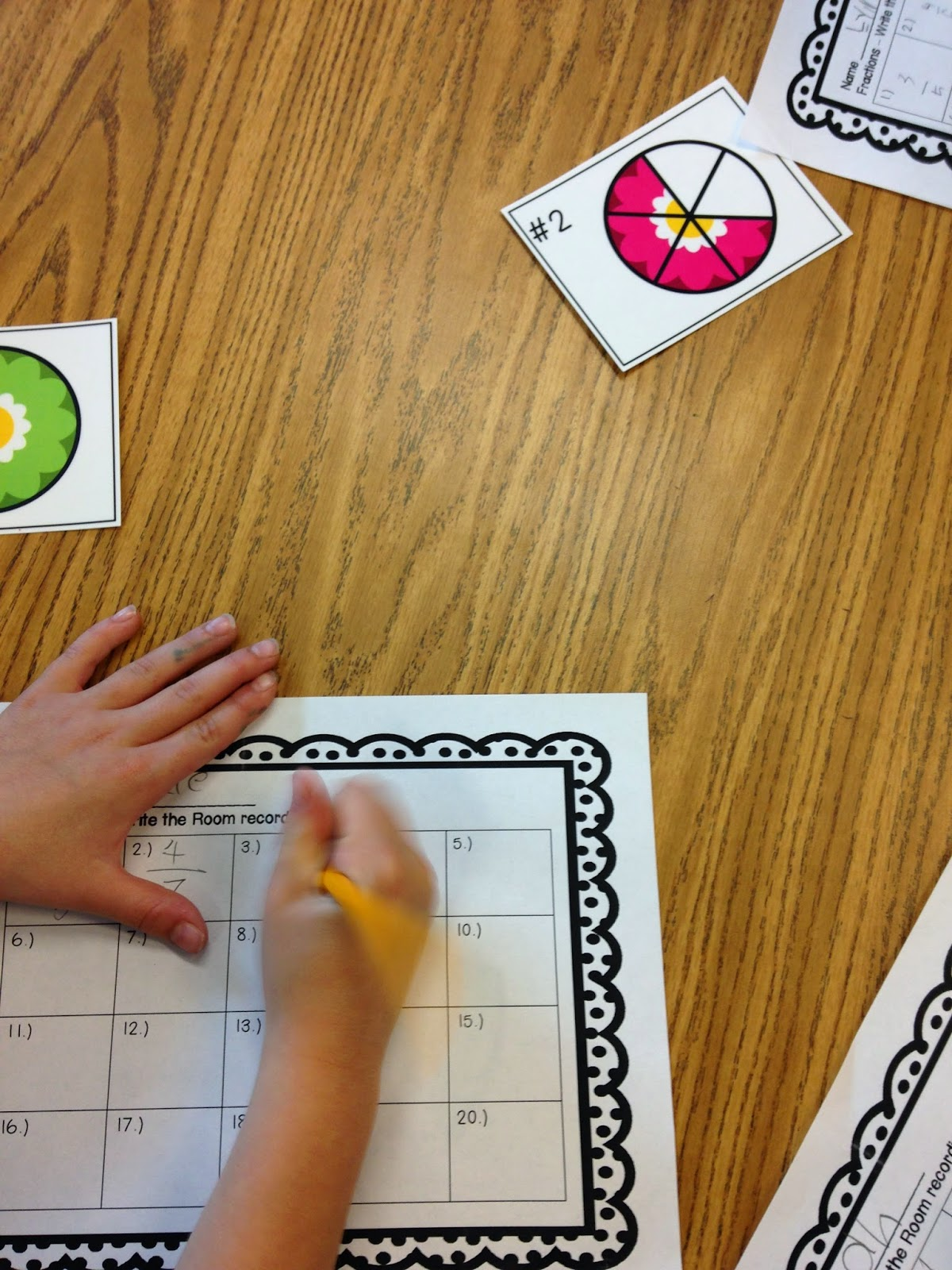 http://www.teacherspayteachers.com/Product/Fraction-Mini-Unit-for-primary-grades-678807