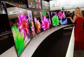 Curved Oled LG First 55 inch OLED TV