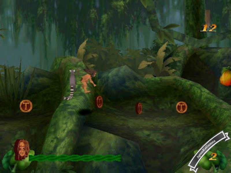 Disney Tarzan Screenshots