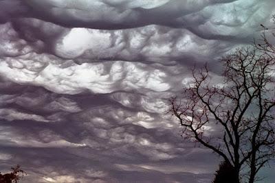 jenis awan baru Undulatus Asperatus