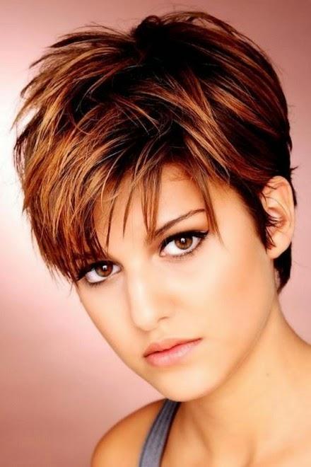 Hairstyles Round Face Thin Fine Hair besides Short Hairstyles Round ...