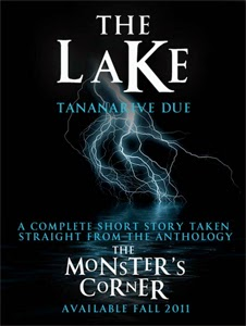 Portada original de The Lake, de Tananarive Due
