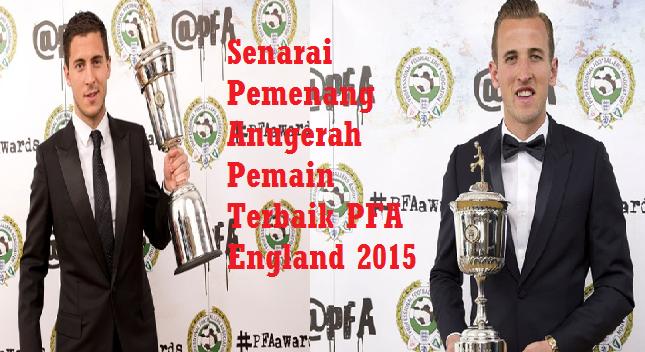 Anugerah Pemain Terbaik PFA England 2015