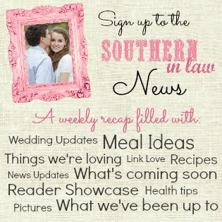 Southern In-Law Newsletter - Healthy Meal Ideas