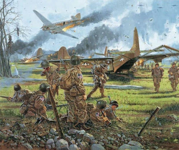 D Day US Glider Troops