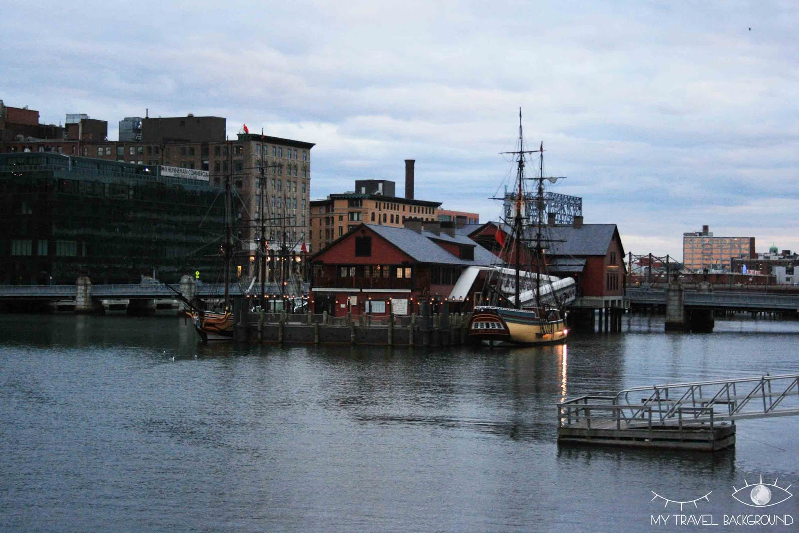 My Travel Background : Boston Tea Party Ship and Museum