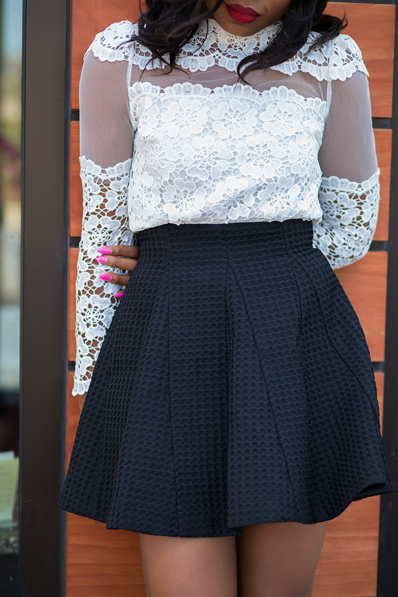 Chicwish skater skirt
