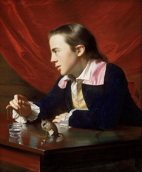 A Boy with a Flying Squirrel by John Singleton Copley, 1765