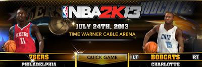 Philadelphia 76ers & Charlotte Bobcats