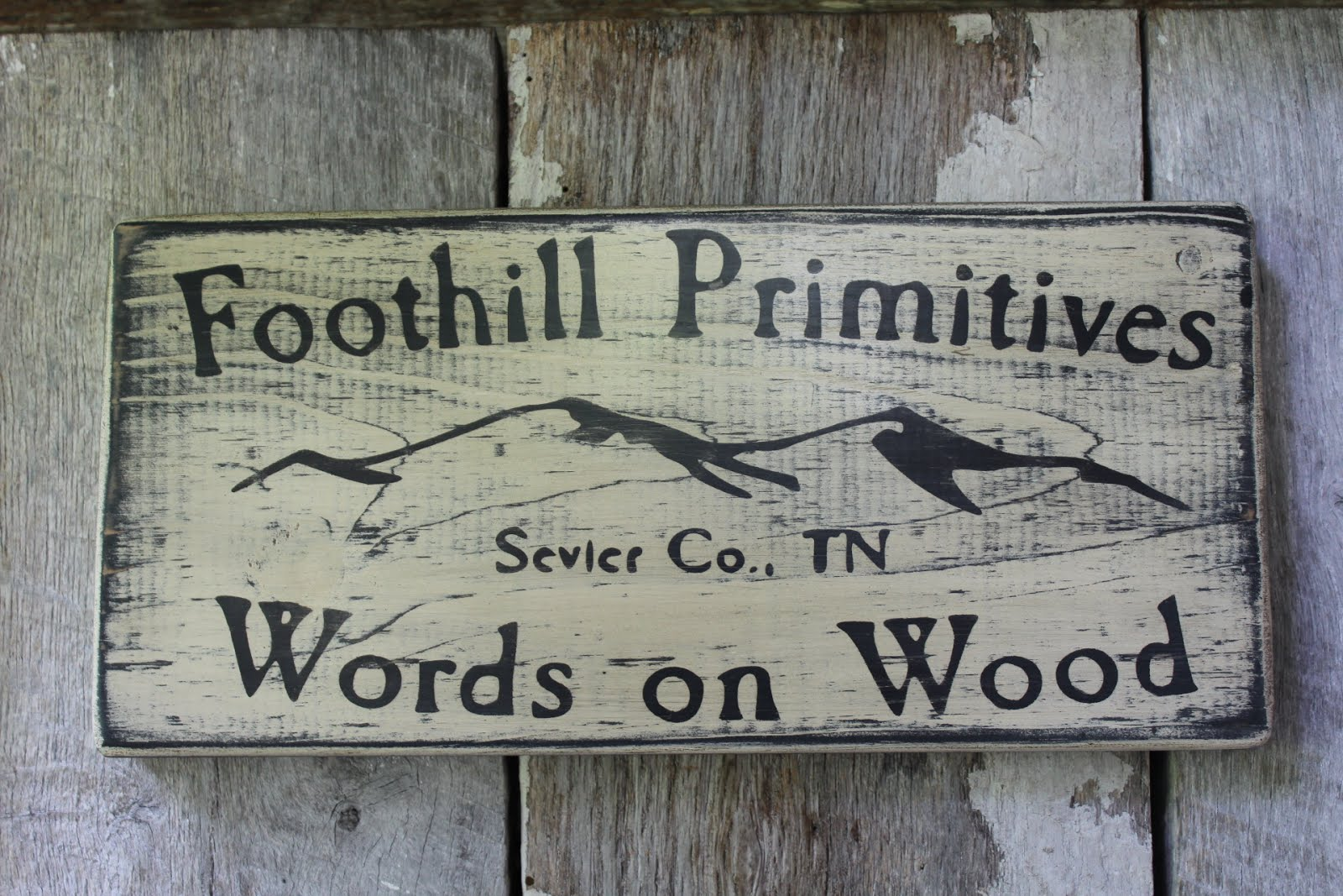Words On Wood