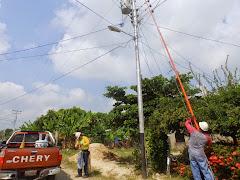 Habitantes del sector Unión y Costa Rica Alto Viento fueron beneficiados con nuevos transformadores