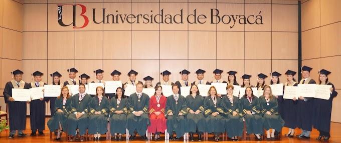 Uniboyacá celebró primera ceremonia de grados en su sede de Sogamoso