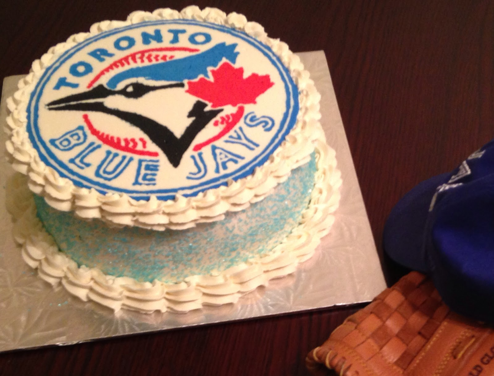 Crafting Baker: Toronto Blue Jays Birthday Cake