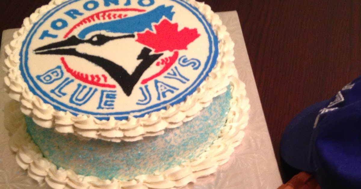 Crafting Baker Toronto Blue Jays Birthday Cake