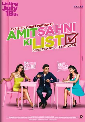 Amit Sahni Ki List (2014) Movie Poster No. 1
